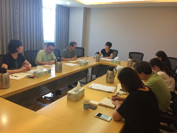 上海教育评估院领导 莅临我校指导本科教学工作审核评估准备工作(2)