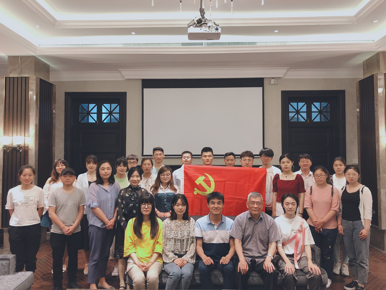 """学校开展""""我是中国研究生,我为祖国点赞""""..."""